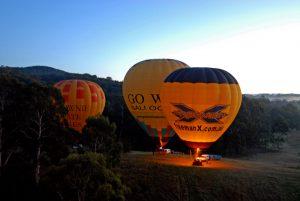 Victoria in Australien: Ballooning Yarra Valley