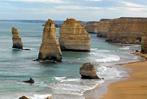 Victoria in Australien: die 12 Apostel