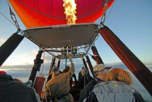 Victoria in Australien: Ballonfahrt übers Yarra Valley