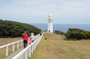 Victoria in Australien: Leuchtturm am Cape Otway