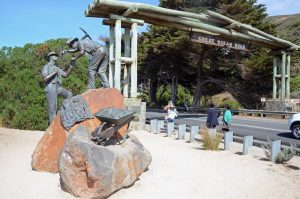 Victoria AUstralien: Beginn der Great Ocean Road