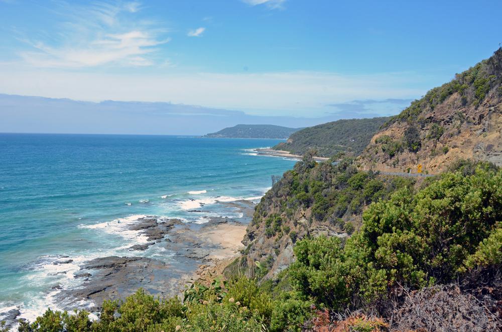 Victoria Austgralien: Küste an der Great Ocean Road