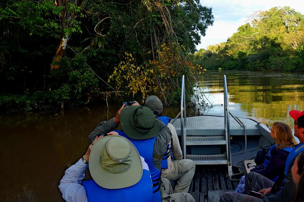 Bootsfahrt Amazonas