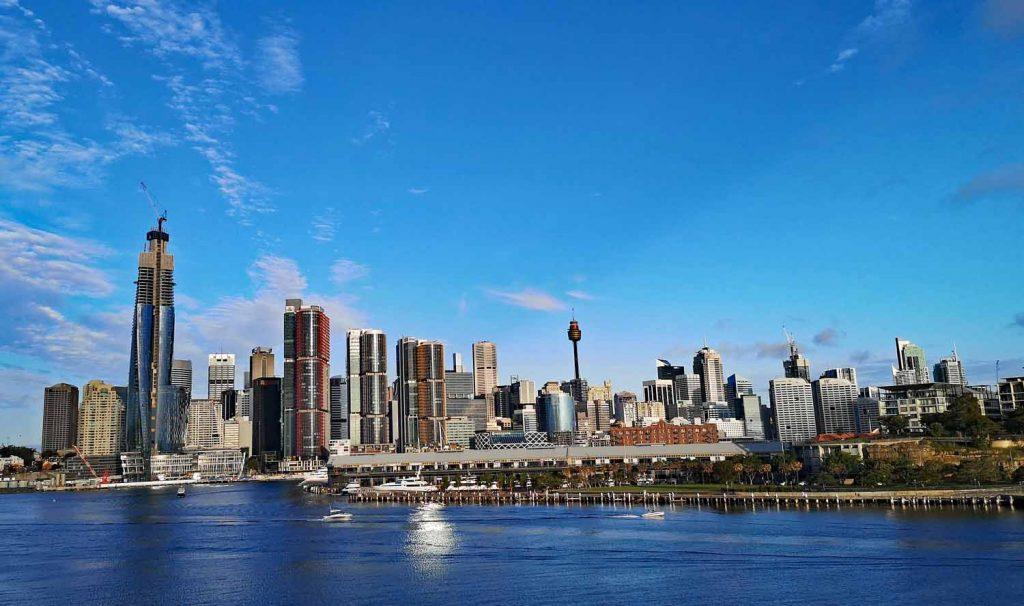Australienromane Sydney Skyline